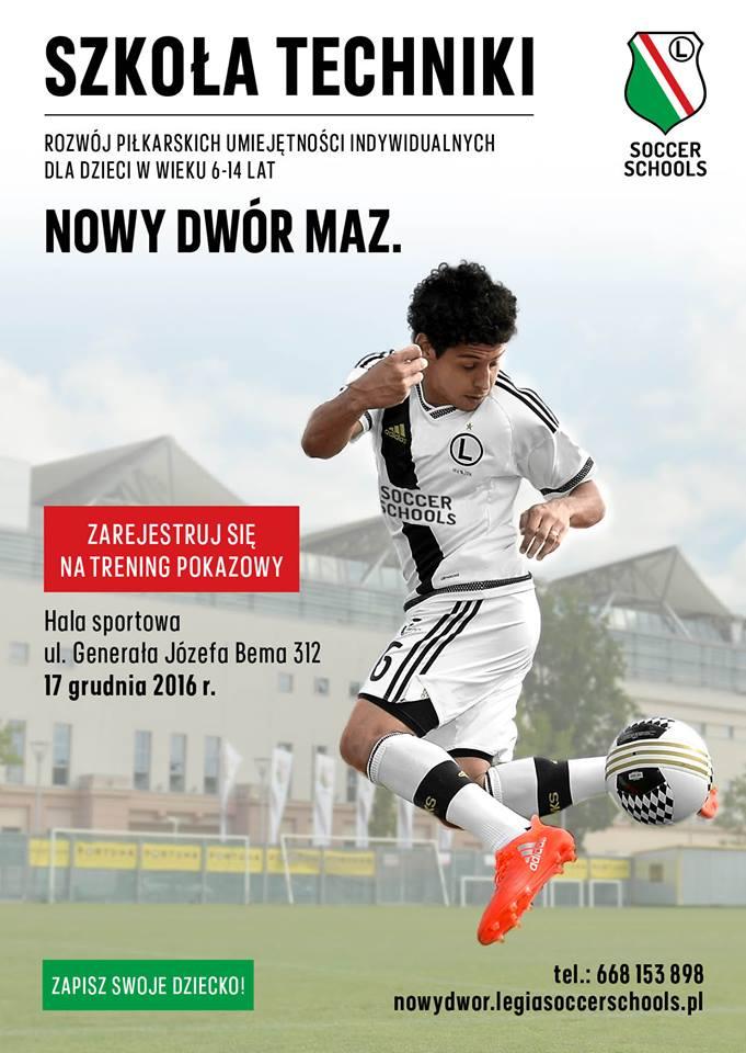 Szkoły Techniki Legia Warszawa W Nowym Dworze Mazowieckim